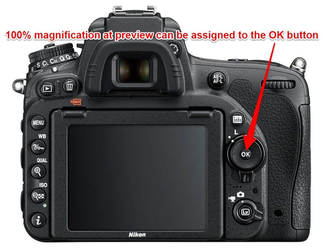 Nikon D750 back button autofocus