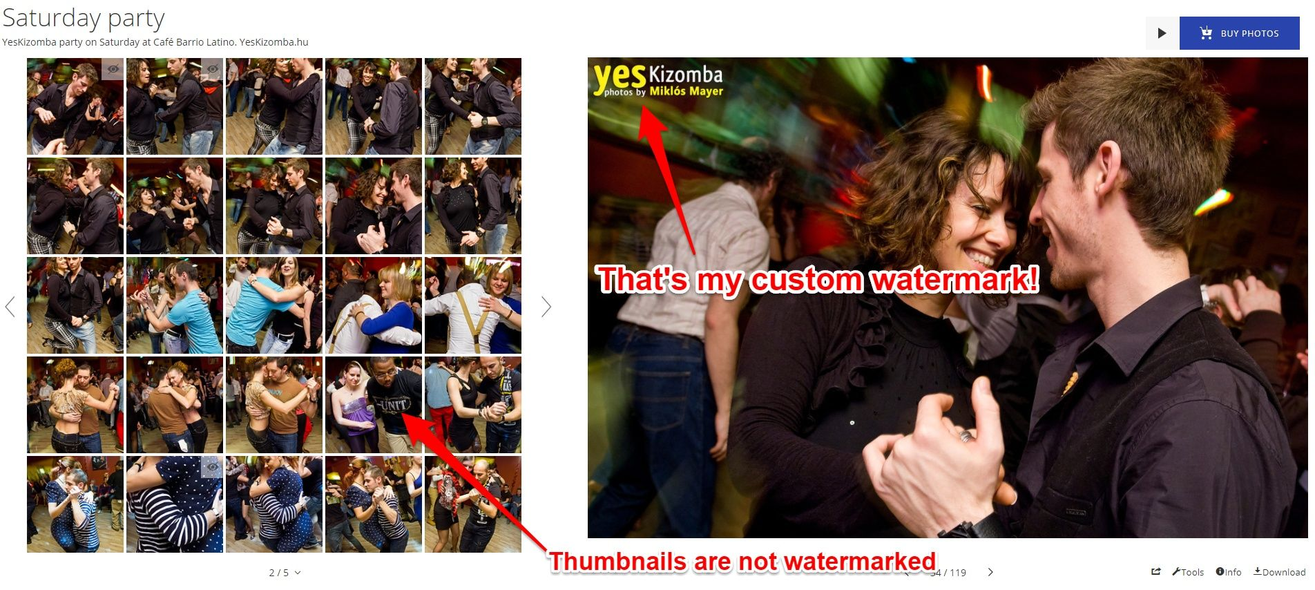 Smugmug watermarking
