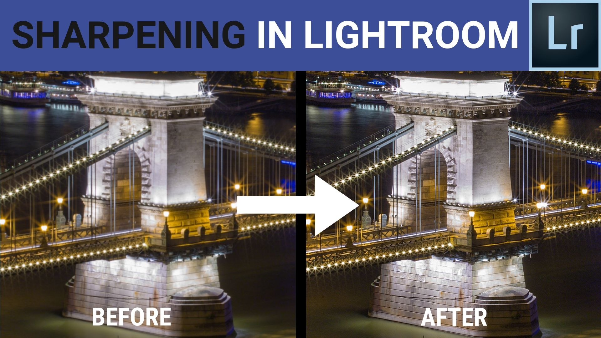 advanced sharpening in adobe lightroom