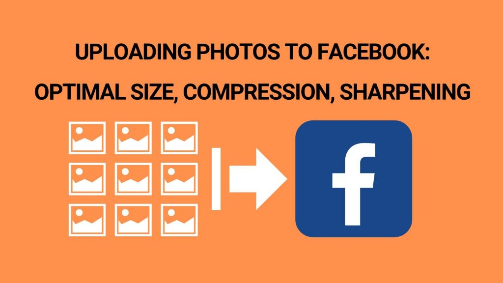 uploading photos to facebook