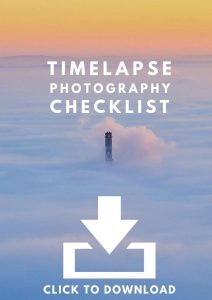 TImelapse Photography Checklist