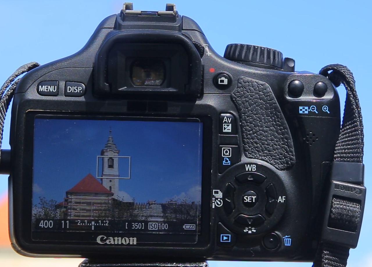 canon 550d camera setup daytime timelapse photography