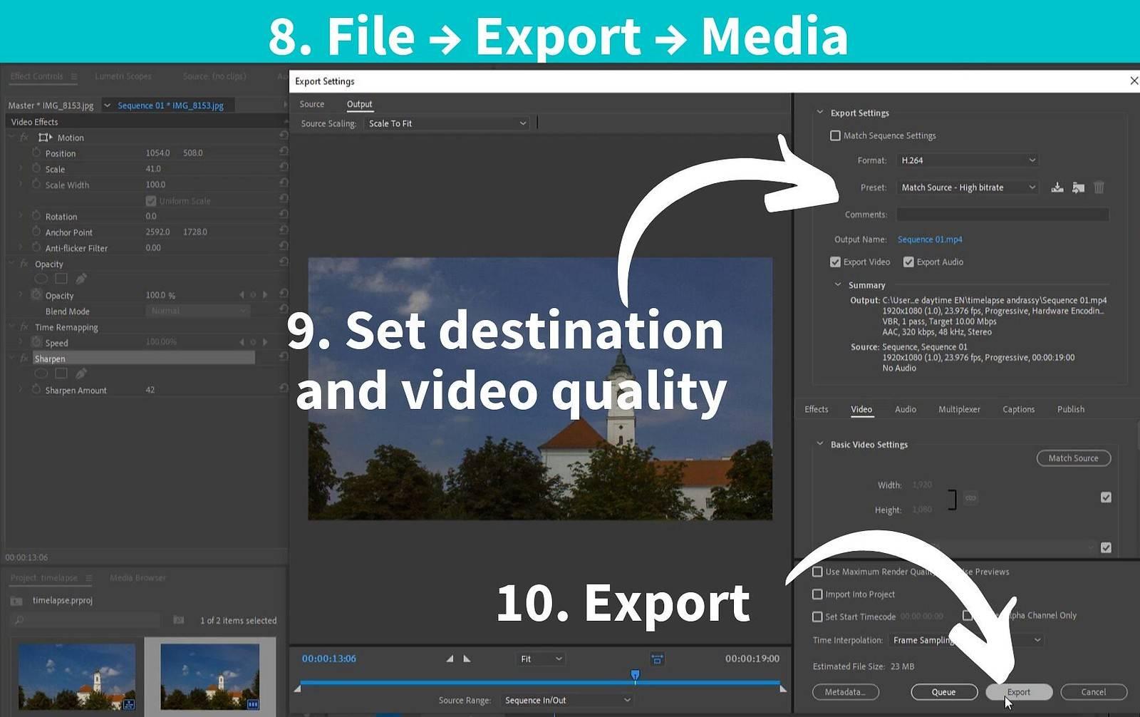timelapse premiere pro render export_2