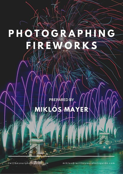 photographing fireworks checklist pdf cover