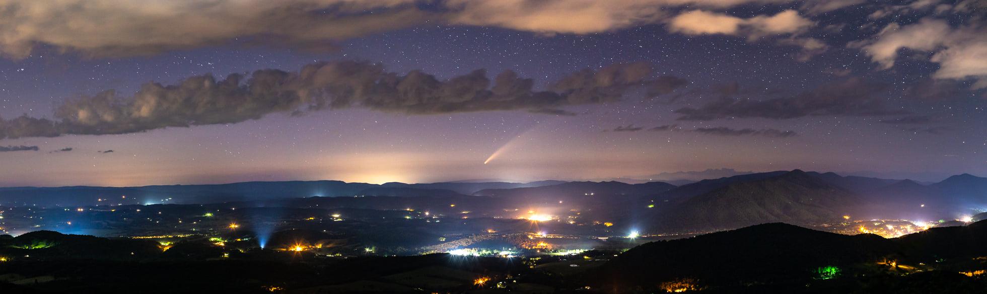 comet neowise Botetourt County Virginia Jason Rinehart